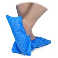 Cobre-sapatos Plástico Azul (100un)