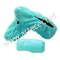 Cobre-sapatos TNT Verde (200un)