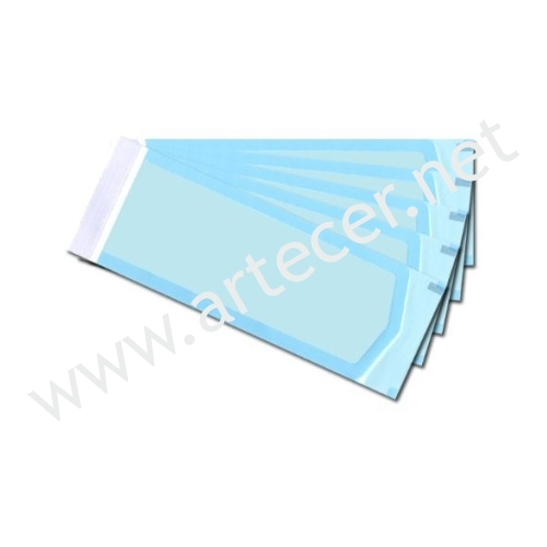 Sterilization pouch 100x200 3000un for 3 methods of sterilization in the salon